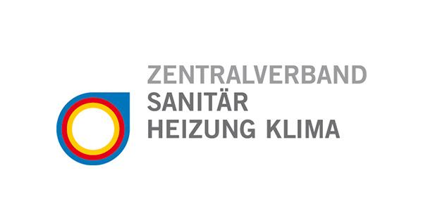 Logo: Zentralverband Sanitär Heizung Klima (ZVSHK)